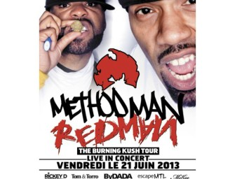Method Man & Redman at L'Olympia June 21st