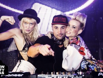 Exclusive Interview W/ NERVO: We Talked New Music, Creative Differences, & Drank Some Beer
