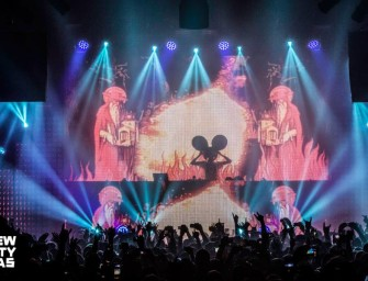 Pictures from Deadmau5's Birthday Celebration at New City Gas January 2014