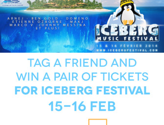 WIN ICEBERG WINTER MUSIC FESTIVAL 2014 TICKETS !