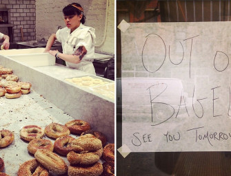 2 Montrealers Opened A Bagel Shop Yesterday In New York City And Sold Out Instantly
