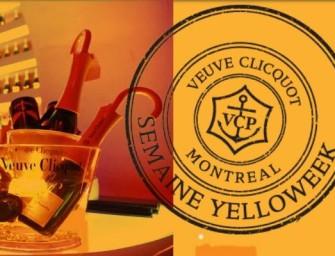6 Local Restaurants & 1 Nightclub Present Yelloweek By Veuve Clicquot To Montrealers