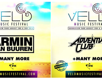 Armin van Buuren and Adventure Club Added To Veld Music Festival Main Stage Line Up