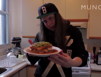 How to Make a Real Quebecois Style Hot Chicken Sandwich with Tommy Kruise