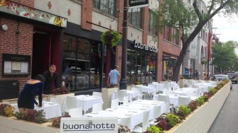 Restaurant Buonanotte Opens New Terrace On St-Laurent For Dinner & Drinks