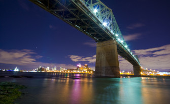 Montreal's Jacques Cartier Bridge Is Getting A New Outdoor Bar & Beach
