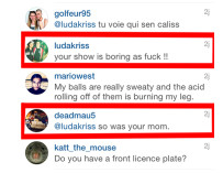 Deadmau5 Fires Back To A Fan On Instagram After His Show In Quebec City