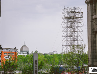 Montreal's Old Port Now Has A 1200 Foot Zipline Flying Over The Bonsecours Island