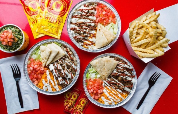 The Halal Guys : Your New Favorite Comfort Food Spot And Late Night Bites