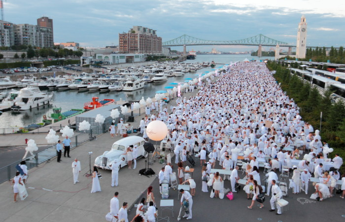 Le Diner en Blanc Montreal Celebrates its 10 Year Anniversary!